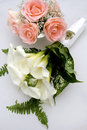 Bride Wedding Flower Bouquet Stock Images