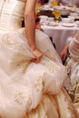 Bride wedding gown Royalty Free Stock Photo