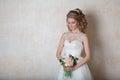 Bride wedding gown white wedding love Royalty Free Stock Photo