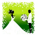Bride. Wedding illustration Royalty Free Stock Photo