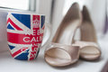 Brides Shoes Royalty Free Stock Photo