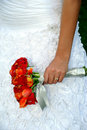 Brides Wedding Flower Bouquet Royalty Free Stock Photography