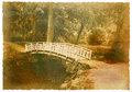 Bridge across the river Royalty Free Stock Photo