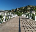 Bridge across river Sarca Stock Image