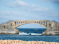 Bridge in Alexandria, Egypt Royalty Free Stock Photo