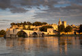 Bridge of Avignon Royalty Free Stock Photo