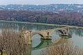 Bridge at Avignon Royalty Free Stock Photo