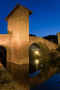 Bridge of Balmaseda, Bizkaia Royalty Free Stock Photo