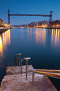 Bridge of Bizkaia, Royalty Free Stock Photography