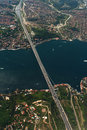 Bridge - Bosphorus - Istanbul Royalty Free Stock Photo