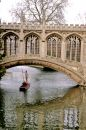 Bridge- Cambridge Royalty Free Stock Photo