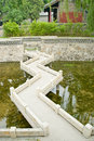 A bridge in china Stock Photo