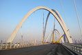 Bridge construction beizhonghuan is under the is located in taiyuan shanxi china Stock Image