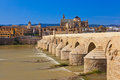 Bridge at Cordoba Spain Royalty Free Stock Image