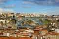 Bridge Dom Luis I in Porto Royalty Free Stock Image