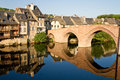 Bridge of Espalion Royalty Free Stock Photo