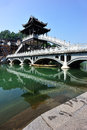 Bridge at fenghuang ancient town china Royalty Free Stock Photography