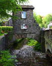 Bridge house ambleside cumbria is a national heritage site in the lake district of the united kingdom Stock Images