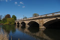 Bridge in Hyde Park Royalty Free Stock Photo