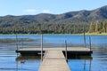 Bridge on Lake Royalty Free Stock Photo