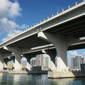 Bridge in Miami Stock Image