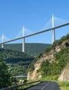Bridge of Millau (France) Royalty Free Stock Photo