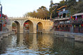 Bridge near Summer Palace, Beijing, China Royalty Free Stock Photo
