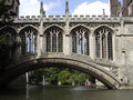 Bridge over Cam river Royalty Free Stock Photos