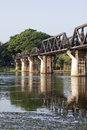 Bridge Over The River Kwai Stock Photo