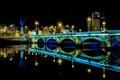 Bridge over River Lagan in Belfast