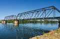 Bridge over river long a in australia Royalty Free Stock Images