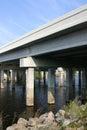 Bridge over the Saint John's  Stock Images