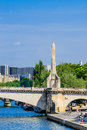 Bridge of Paris Royalty Free Stock Photo