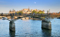 Bridge Pont des Arts. Royalty Free Stock Photo