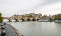 Bridge Pont Neuf across the Seine Stock Photography