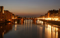 Bridge Ponte Vecchio, Florence, Italy Stock Photo