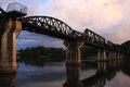 Bridge on the river kwai Royalty Free Stock Photos