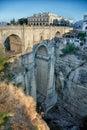Bridge in Ronda Royalty Free Stock Photo