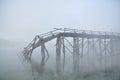 Bridge Ruins Royalty Free Stock Photo
