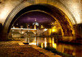 Bridge Sant Angelo Royalty Free Stock Photo