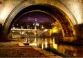 Bridge Sant Angelo Royalty Free Stock Photo