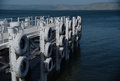 Bridge in the sea of galilee israel Stock Photos