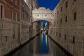 Bridge of Sighs - Ponte dei Sospiri. Royalty Free Stock Photo