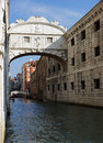 Bridge of sighs the in venice italy Royalty Free Stock Photography