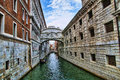 The bridge of sighs in venice italy between doge s palace and prison every corner discloses a different face Royalty Free Stock Image