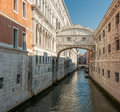 Bridge of sighs venice italy famous Stock Photos