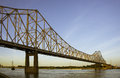 Bridge in St. Louis Royalty Free Stock Photo