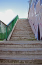 Bridge steps Royalty Free Stock Photo