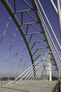 Bridge Structural Trusses Royalty Free Stock Photography
