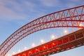 Bridge structure chongqing chaotianmen close up Royalty Free Stock Image